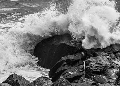 Photograph - Storm Breaker by Thomas Lavoie