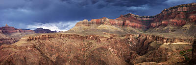 Storm Brewing In The Canyon Art Print