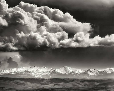 Photograph - Storm Brewing by Joan Herwig