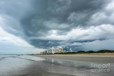 Fort Pierce Photograph - Storm Brewing by Liesl Marelli