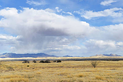 Photograph - Storm Brewing North Of Sonoita Az by Alan Lenk