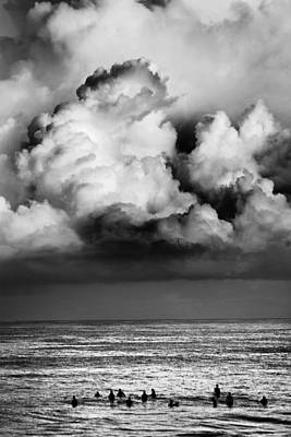 Storm Brewing Over Pipeline Art Print