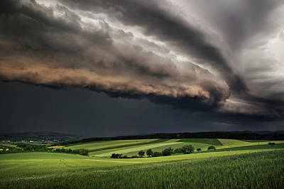 Thunder Photograph - Storm by Burger Jochen