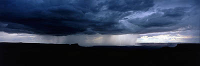 Lightning Bolt Photograph - Storm, Canyonlands National Park, Utah by Panoramic Images