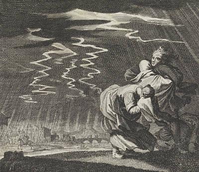 Storm, Caspar Luyken, Jan Luyken, Christoph Weigel Art Print