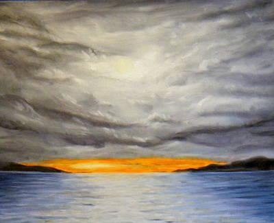 Storm Cloud Study Art Print