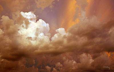Photograph - Storm Clouds by Andrea Kelley