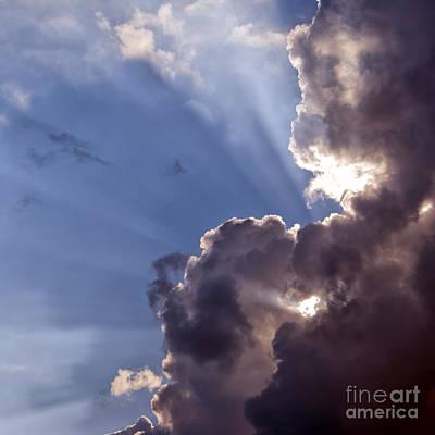 Claude Monet - Storm Clouds by Antony McAulay