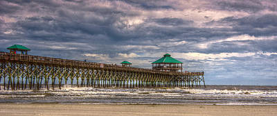 Photograph - Storm Clouds Approaching - Hdr by E Karl Braun