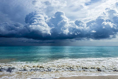 Photograph - Storm Clouds At Waimanalo by Leigh Anne Meeks
