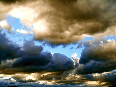 Storm Clouds Original by Dietmar Scherf