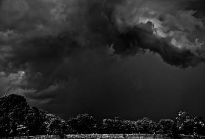 Storm Clouds Art Print by Mark Alder