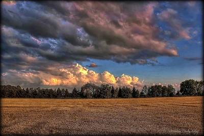 Photograph - Storm Clouds by Michaela Preston