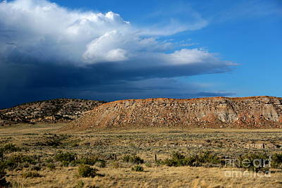 Photograph - Storm Clouds Over Central Wyoming by Carol Groenen
