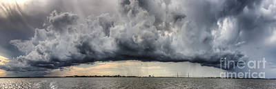 Storm Clouds Over Charleston South Carolina Art Print by Dustin K Ryan