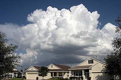 Counry Photograph - Storm Clouds Over Clermont by Carl Purcell