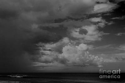 Photograph - Storm Clouds Over Ocean #1 by Paul Rebmann