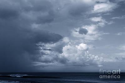 Photograph - Storm Clouds Over Ocean #2 by Paul Rebmann