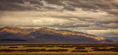 Alluvium Photograph - Storm Clouds Over Snowy Peaks #2 by Stuart Litoff