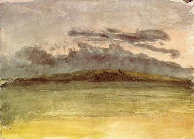 Storm Clouds Painting - Storm Clouds Sunset 1825 by J M W Turner