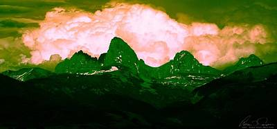 Teton Digital Art - Storm Coming by Aaron Carper