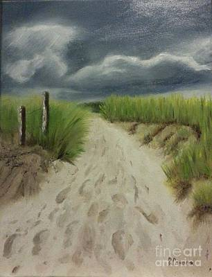 Painting - Storm Coming by Bev Conover