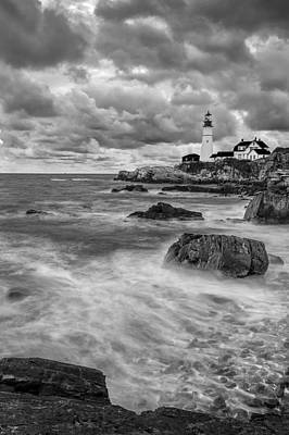 Storm Coming Art Print by Jon Glaser