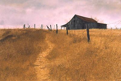 Painting - Storm Coming by Tom Wooldridge