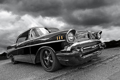 Big Block Chevy Photograph - Storm Cruiser - 57 Chevy by Gill Billington