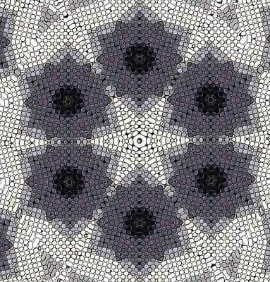 Digital Art - Storm Flake Mandala by Karen Buford