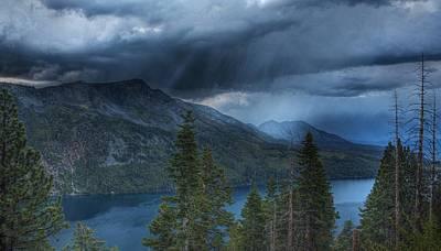 Fallen Leaf Lake Photograph - Storm Head by Michael Breshears