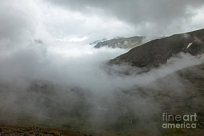 Photograph - Storm In Fall River Canyon From The Alpine Center In Rocky Mountain National Park by Fred Stearns