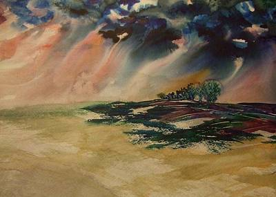 Painting - Storm In The Heartland by Kim Shuckhart Gunns