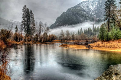 Storm In Yosemite Art Print