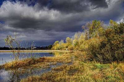 Landscape Photograph - Storm Incoming by Ivan Slosar