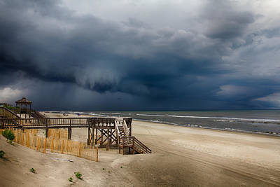 Photograph - Storm Is Approaching by Leah Palmer