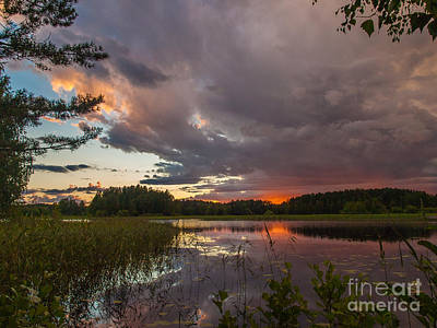 Photograph - Storm Is Rising by Ismo Raisanen