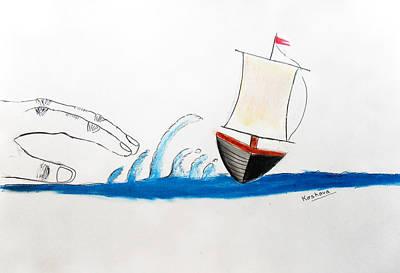 Storm Art Print by Keshava Shukla