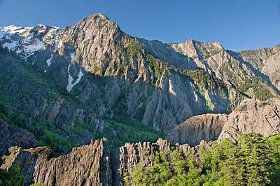 Big Cottonwood Canyon Photograph - Storm Mountain, Big Cottonwood Canyon by Howie Garber
