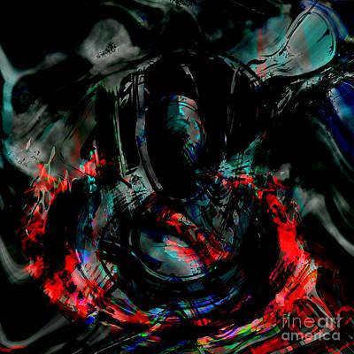 Soul On Fire Art Print by Ashantaey Sunny-Fay