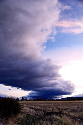 Photograph - Storm On The Horizen by Tamyra Crossley
