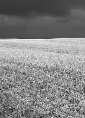 Photograph - Storm On The Stubble by Gordon  Grimwade