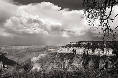 Photograph - Storm Over Canyon by Joseph G Holland