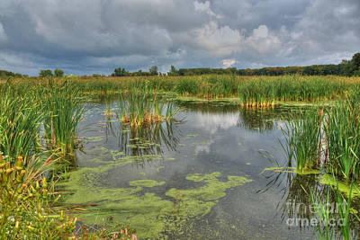 Photograph - Storm Over Crabtree by Deborah Smolinske
