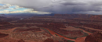 Photograph - Storm Over Dead Horse Point by Alan Vance Ley