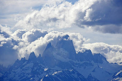 Photograph - Storm Over Fitz Roy 1 by Michele Burgess