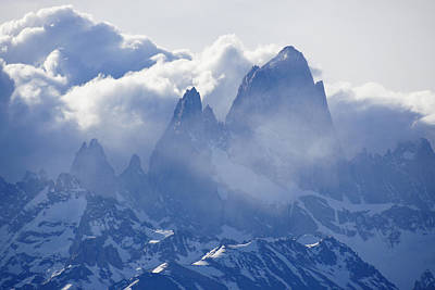 Photograph - Storm Over Fitz Roy 3 by Michele Burgess
