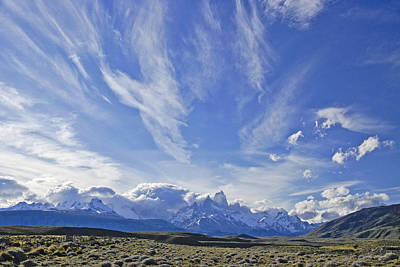 Photograph - Storm Over Fitz Roy 4 by Michele Burgess