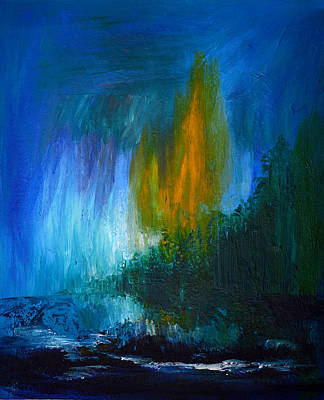 Painting - Storm Over Kauai by Donna Blackhall