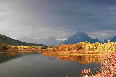 Photograph - Storm Over Ox Bow Bend by Floyd Tillery